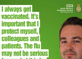 Paramedics urge public to get flu vaccine - jabs are available on Tuesday for people aged 50-64